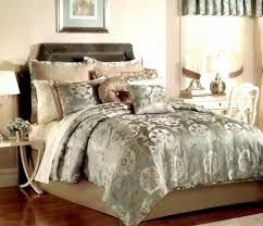 jacquard comforter sets with regard to pem america raleigh 20 piece queen set blue taupe decorations 8