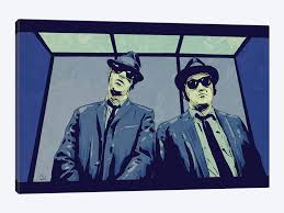 blues brothers by giuseppe cristiano 1 piece canvas wall art on blues brothers wall art with blues brothers canvas wall art by giuseppe cristiano icanvas
