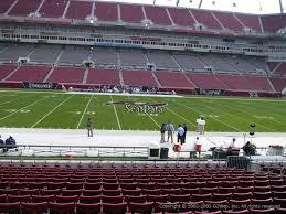 Raymond James Stadium Section 110 Tampa Bay Buccaneers