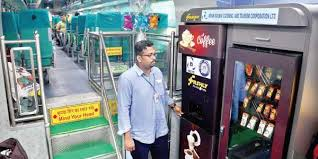 What Did The Coach Say To The Vending Machine Magnificent Uday Express From Bengaluru To Coimbatore Is A Treat For Passengers