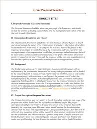 Grant Proposal Template 2 Grant Proposal Writing Grant