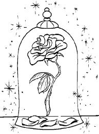 Small Picture Disney Coloring Pages Beauty And The Beast Coloring Pages
