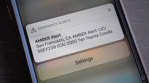 mobile Amber Alerts ...