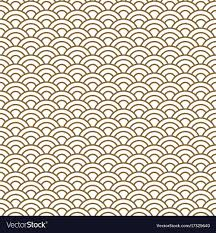 Japanese Wave Pattern Stunning Japanese Wave Traditional Seamless Pattern Vector Image