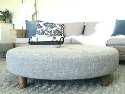 round tufted ottoman coffee table tufted round ottoman coffee table