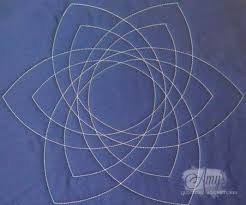 239 best Quilting with Rulers images on Pinterest | Model, Free ... & It's like Spirograph for quilters! Celtic knot quilting template for free  motion quilting with rulers Adamdwight.com
