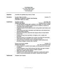 Emergency Room Nurse Resume Template Nurse Resume Template Free Printable Allfreeprintable Com