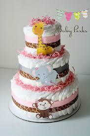 jungle diaper cake jungle baby shower