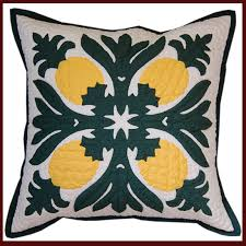 Hawaiian Hand Quilted Pillows made in Volcano Village, Hawaii ... & Hawaiian Hand Quilted Pillows made in Volcano Village, Hawaii - Hawaii  Quilting Treasures! Adamdwight.com