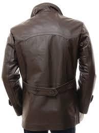 mens 3 4 length coat