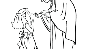 First Communion Coloring Pages Chalice Coloring Page First Communion