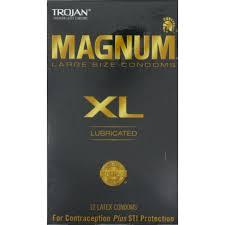 magnum xl size trojan xl large size latex condoms 12 ct from frys instacart