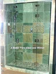 glass shower doors install glass shower door how to cost sliding installing doors