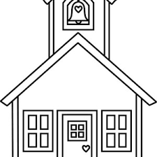 Small Picture Sketch of School House Coloring Page Coloring Sky