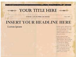 Free Front Page Newspaper Template Printable Newspaper Templates Free Download Them Or Print