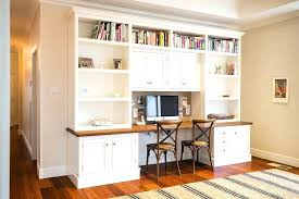 home office bookshelves desk with bookshelves above home office traditional with double desk striped rug book home office bookshelves