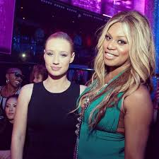 iggy azalea and laverne posed together in las vegas source insram user thenewclic
