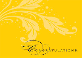 Words For Congratulations Basic Words Congratulations Card
