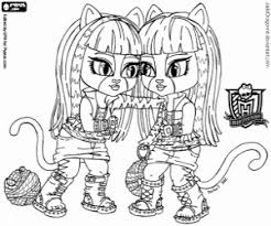 Small Picture Monster High Baby coloring pages printable games