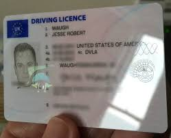 On Driving Licence Uk Eyes All-seeing Waugh Jesse —