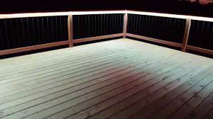 new led strip deck lighting