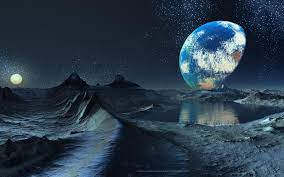 Earth Moon Wallpaper - 1920x1200 ...