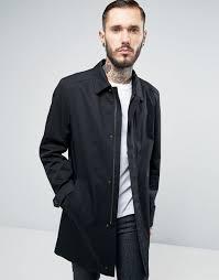 hugo by boss overcoat dark blue 401 men coat hugo boss shirts usa