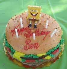Spongebob Squarepants Cake Designs Birthdaycakeforboygq