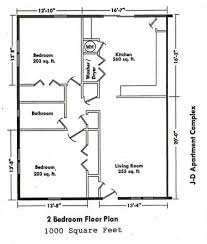 Small 2 Bedroom 2 Bath House Plans Small Bedroom Open Floor Plans Inspirations House With Plan Free