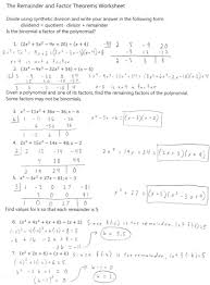 5 long division and synthetic worksheet math algebra 2 855358
