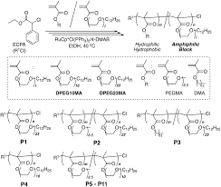 Self Assembly Of Amphiphilic Block Pendant Polymers As