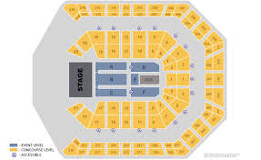 Mgm Arena Seating Map Mgm Grand Garden Arena Seating Chart