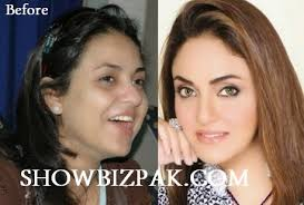 stani actress with and without makeup