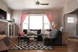 ... Taupe Color Living Room With Pink Accents ... Ideas