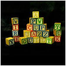 vintage wood alphabet abc blocks sold ruby lane