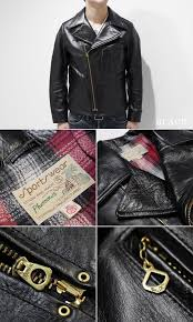 black 16w mw40 horsehide leather jacket at the front part is hookless zipper attached will follow the details of vintage atmosphere in the t pocket