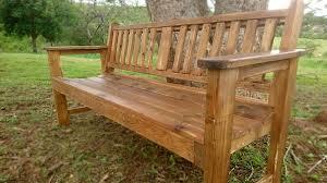 vintage garden bench pallet creator