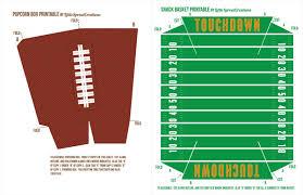 Homemade Super Bowl Decorations Free Football Party Printables Homemade Stadium Snack Recipes 35