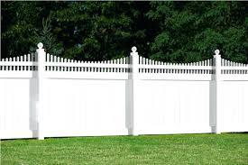 vinyl fence panels menards image of white design picket l64