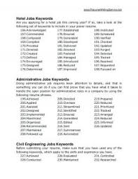 Resume Keywords Fancy Key Resume Words and Phrases for Your Resume Keywords and 38