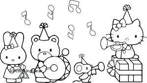 Hello Kitty Colouring Sheets Full Size Of Hello Kitty Colouring