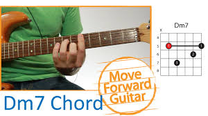 Guitar Chord Chart Dm7 Guitar Chords Dm7 Bar Barre Part 1 Finger Placement