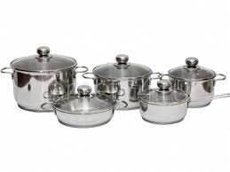 "<b>Набор посуды 10 предметов</b> ""Классика-ПРИМА"" со стеклянными ..."