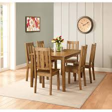 transitional dining chair sch: better homes and gardens bankston dining chair set of  honey walmartcom