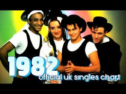 Top Songs 1982 1s On The Uk Singles Chart