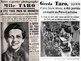 Risultati immagini per Gerda Taro scrittrice