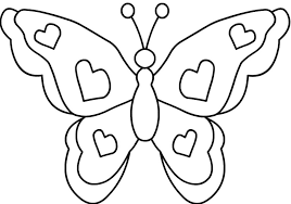 picture of a butterfly to colour.  Butterfly Interesting Picture Of A Butterfly To Colour Coloring Pict Tk Usu Pictures Intended