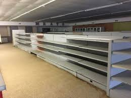 gondola shelving used retail metal fixtures island shelves grocery market