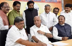 கர்நாடகா உட்கார்ந்த இடத்திலேயே ஆட்சியை பிடிக்கும் பாஜக