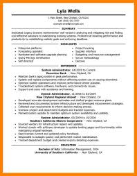 12 System Admin Resume Samples Job Apply Form
